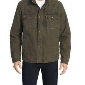 Levi's® Men Washed Cotton Two Pocket Sherpa Lined